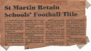 smss football news story